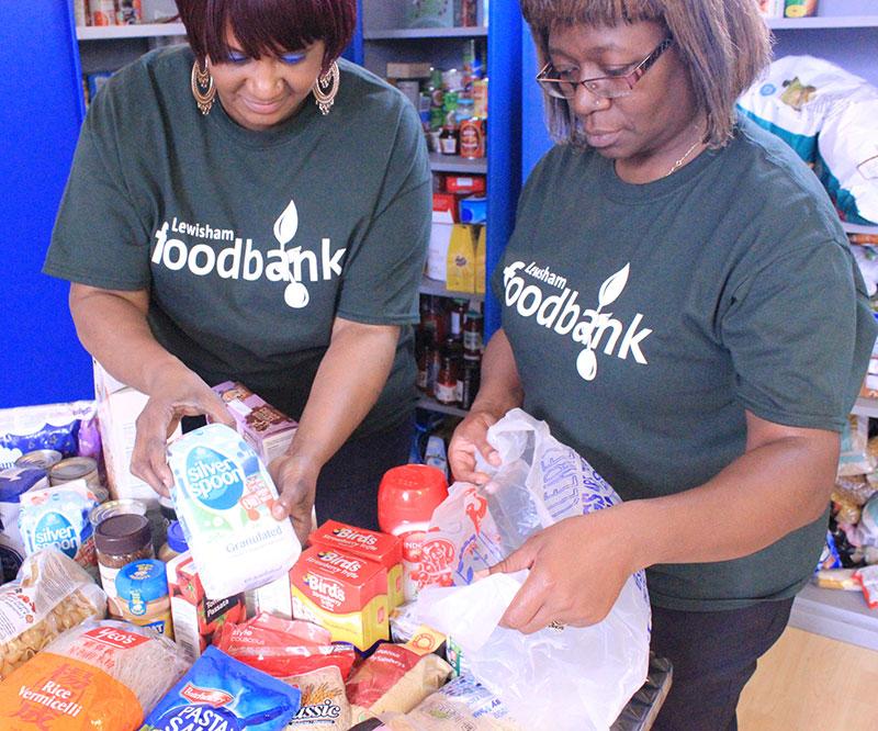 Lewisham Foodbank The Tab Church London